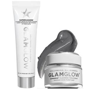 GLAMGLOW Cleanse and Mask Set (Worth £68.50)