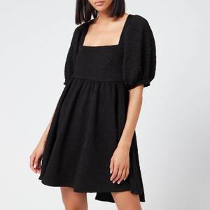 Free People Women's Violet Mini Dress - Black