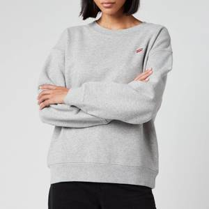Levi's Women's Standard Crew Neck Sweatshirt - Smokestack Heather