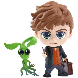 Hot Toys Fantastic Beasts: The Crimes of Grindelwald Cosbaby Newt Scamander and Bowtruckle - Size S (Set of 2)