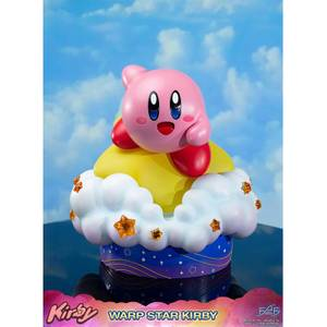 Eerste 4 Figuren Kirby Hars Beeld - Wikkel Ster Kirby