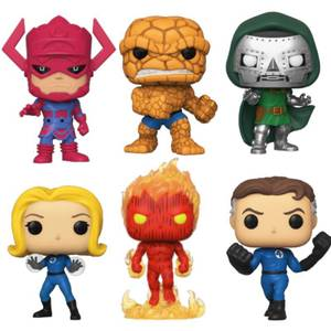 Fantastici Quattro Pop! Vinyl - Pop! Collection