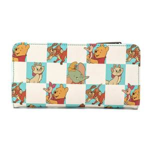 Loungefly Disney Mint Checker Wallet