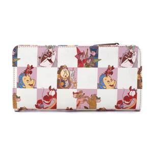 Loungefly Disney Rose Checker Wallet