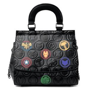 Loungefly Marvel Icons Aop Crossbody