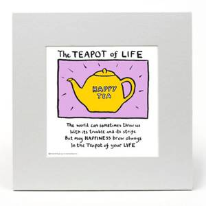 The Teapot of Life by Edward Monkton