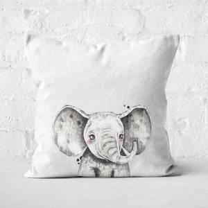 Cute Elephant Square Cushion