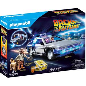 Playmobil Regreso al futuro DeLorean (70317)