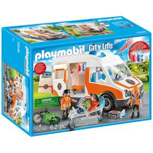 Playmobil City Life Ambulance with Lights and Sound (70049)