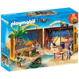 Playmobil Isola dei Pirati portatile (70150)