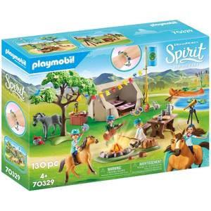 Playmobil DreamWorks Spirit Summer Campground (70329)