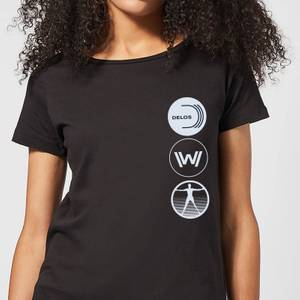 Westworld Delos Destinations Women's T-Shirt - Black