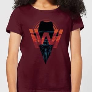 Westworld V.I.P Women's T-Shirt - Burgundy