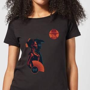Westworld Mariposa Saloon Women's T-Shirt - Black