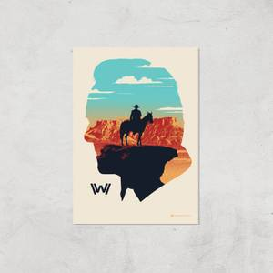Westworld The Orchestrator A2 Giclee Art Print