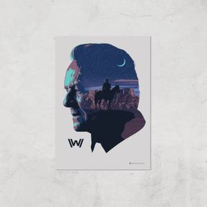 Westworld Robert Ford A2 Giclee Art Print