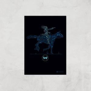 Westworld Core Permissions A2 Giclee Art Print