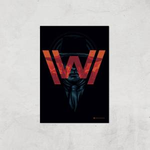 Westworld His Greatest Mistake A2 Giclee Art Print