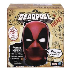Testa interattiva di Deadpool - Hasbro Marvel Legends