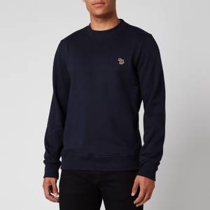 PS Paul Smith Men's Zebra Logo Regular Fit Sweatshirt - Dark Navy