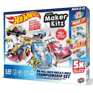 Hot Wheels Maker Kitz - Build & Race Kit - 5 Pack