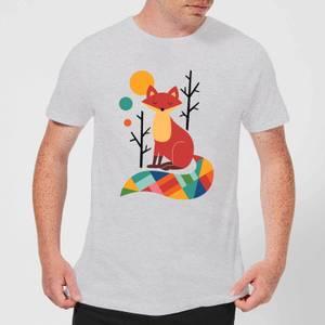 Andy Westface Rainbow Fox Men's T-Shirt - Grey