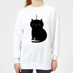 Andy Westface Caticorn Women's Sweatshirt - White