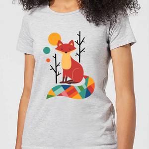 Andy Westface Rainbow Fox Women's T-Shirt - Grey