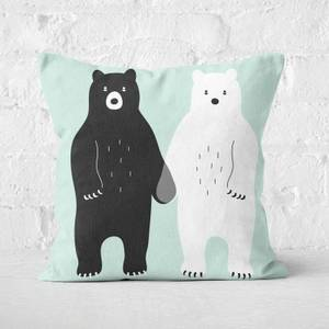 Andy Westface Gray Square Cushion
