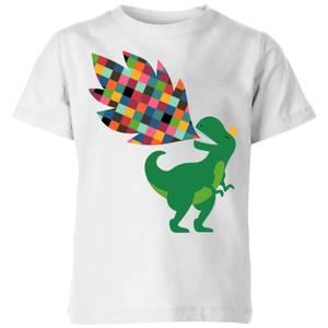 Andy Westface Rainbow Power Kids' T-Shirt - White