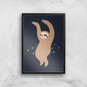 Andy Westface Sloth Galaxy Giclee Art Print