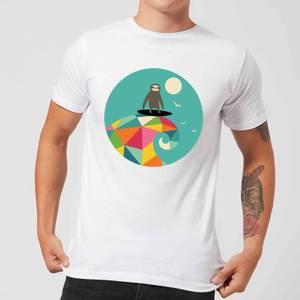 Andy Westface Surfs Up Men's T-Shirt - White