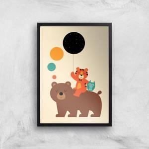 Andy Westface Little Explorer Giclee Art Print
