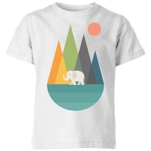 Andy Westface Walk In Peace Kids' T-Shirt - White
