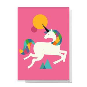 Andy Westface To Be A Unicorn Greetings Card