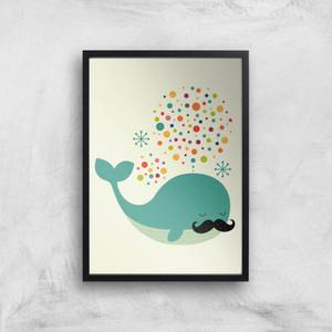 Andy Westface Fire Whale Giclee Art Print