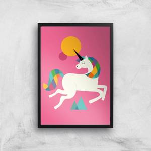 Andy Westface To Be A Unicorn Giclee Art Print