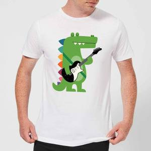 Andy Westface Croco Rock Men's T-Shirt - White
