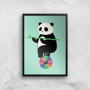 Andy Westface Balanced Bear Giclee Art Print
