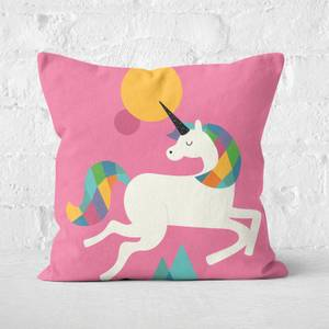 Andy Westface To Be A Unicorn Square Cushion