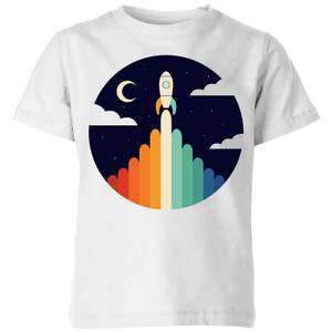 Andy Westface Up Kids' T-Shirt - White
