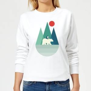 Andy Westface Bear You Women's Sweatshirt - White