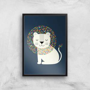 Andy Westface As A Lion Giclee Art Print