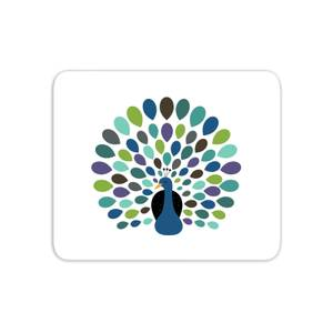 Andy Westface Peacock Time Mouse Mat
