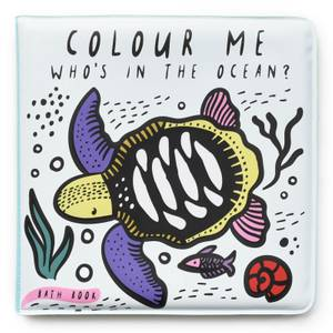 "Wee Gallery ""Who's In The Ocean?"" Colour Bath Book"