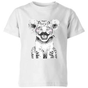 Moustache Cub Kids' T-Shirt - White