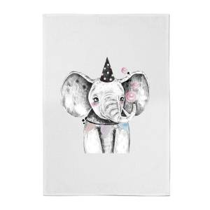 Party Elephant Cotton Tea Towel
