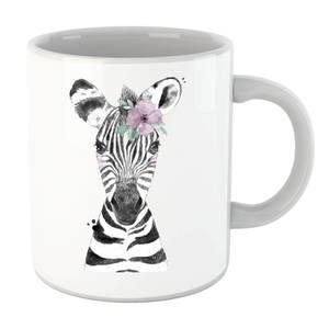 Floral Zebra Mug
