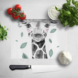 Rainbow Giraffe Chopping Board