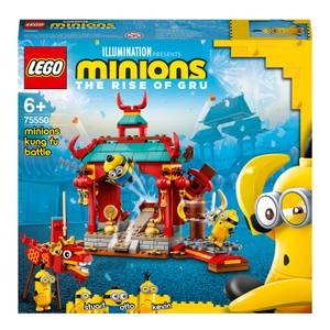 LEGO Minions: Kung Fu Battle Building Set with Dragon (75550)